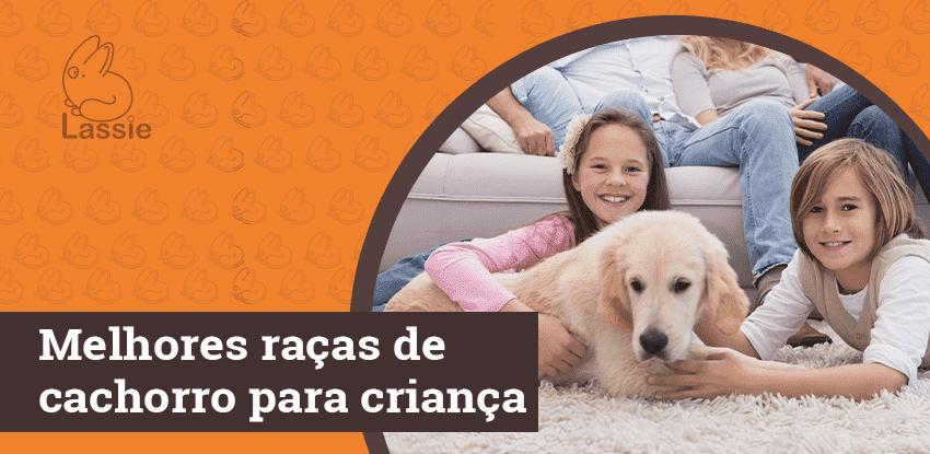 Melhores raças de cachorro para crianças